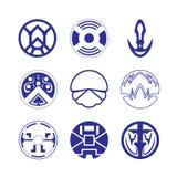 Decorative design Vector circle. Vector of decorative elements circle royalty free illustration