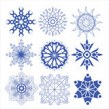 Decorative design Vector circle and flower Stock Photo