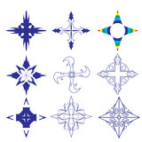 Decorative design Vector cross Royalty Free Stock Photos