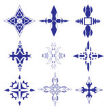 Decorative design Vector cross Royalty Free Stock Image
