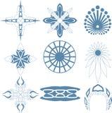 Decorative design Vector cross art. And icon Royalty Free Illustration