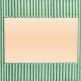 Decorative design Vector frame bamboo. Rectangle pattern royalty free illustration