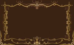 Decorative design Vector frame. Pattern design Stock Illustration