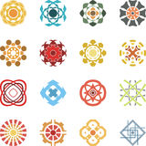 Decorative designs Stock Image