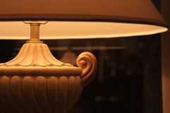 Decorative Desk Lamp. Close-up of an Elegant Decorative Desk Lamp Royalty Free Stock Photo