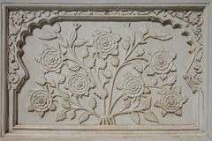 Decorative detail from Bibi Ka Maqbara Royalty Free Stock Images