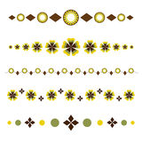 Decorative dividers Royalty Free Stock Image