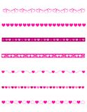 Decorative dividers - Valentine Royalty Free Stock Photo