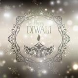 Decorative diwali background Royalty Free Stock Photography