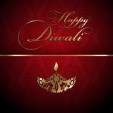 Decorative Diwali background Royalty Free Stock Images