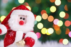 Decorative doll of a Santa Claus Royalty Free Stock Photography