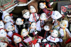 Decorative dolls Royalty Free Stock Image
