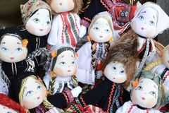 Decorative dolls Stock Photos
