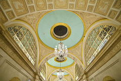 Decorative dome ceiling. A shot of a very decorative ceiling Royalty Free Stock Images