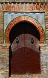 Decorative door royalty free stock photos