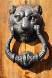 Decorative door knocker Royalty Free Stock Photos