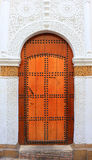 Decorative door in Morocco Royalty Free Stock Photography