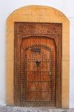 Decorative door in Morocco Stock Images