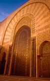 Decorative door in mosque Stock Photo