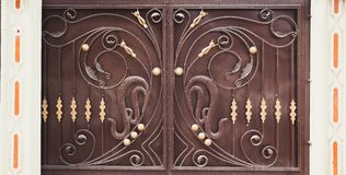 Decorative Door Stock Photography