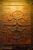 Decorative door panel Royalty Free Stock Image