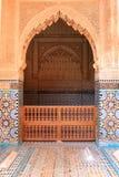 Decorative doorway  in Morocco Stock Image