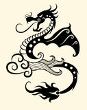 Decorative dragon Royalty Free Stock Photography