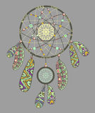 Decorative dream catcher Stock Images