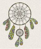 Decorative dream catcher Royalty Free Stock Images