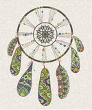 Decorative dream catcher Stock Photo