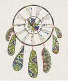 Decorative dream catcher Stock Photography