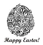 Decorative easter egg Royalty Free Stock Images