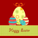 Decorative easter eggs Royalty Free Stock Images