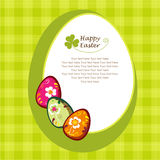 Decorative Easter Eggs Stock Photography