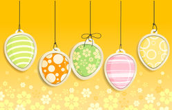 Decorative Easter eggs Stock Images