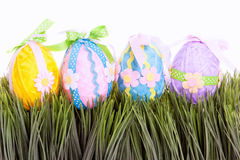 Decorative easter eggs Royalty Free Stock Image