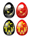 Decorative Easter eggs. Stock Image