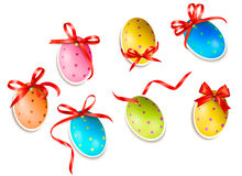 Decorative easter eggs. Stock Photography