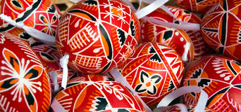 Decorative easter eggs Royalty Free Stock Photo