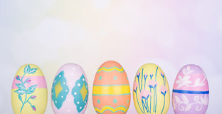 Decorative Easter Eggs Stock Image