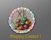 Decorative easter ornament Stock Photo