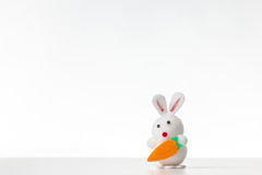 Decorative easter rabbit Royalty Free Stock Image