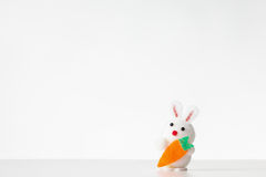 Decorative easter rabbit Stock Photo