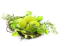 Decorative easter set Royalty Free Stock Images