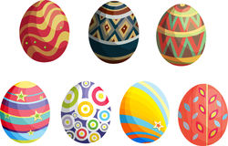 Decorative eggs Royalty Free Stock Photo