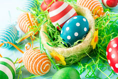 Decorative eggs Royalty Free Stock Photo