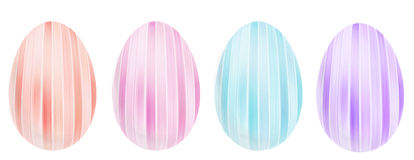 Decorative eggs for Easter Stock Photos