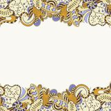 Decorative element border. Vector illustration Stock Images