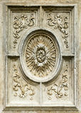 Decorative element of a cathedral , 16 century Royalty Free Stock Photo