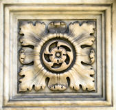 Decorative element of a cathedral, Italy, 16 century Stock Photo